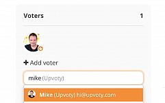 Vote on behalf